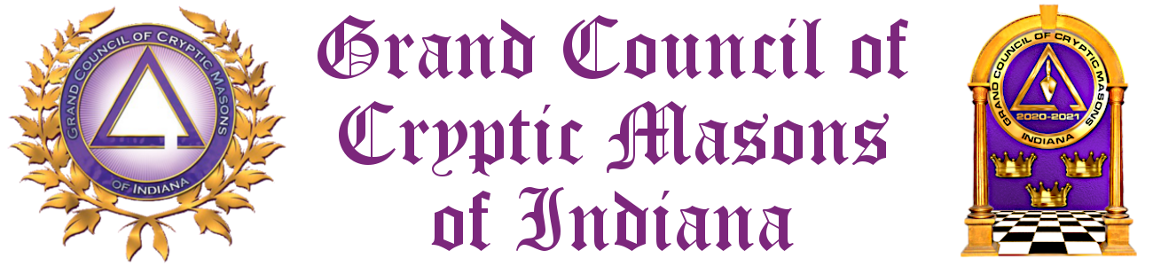 Grand Council of Cryptic Masons of Indiana Logo