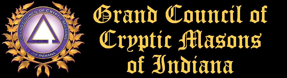 Grand Council of Cryptic Masons of Indiana Logo